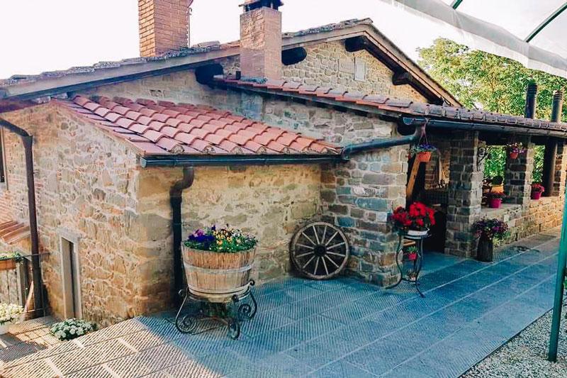 Agriturismo Toscana stile rustico