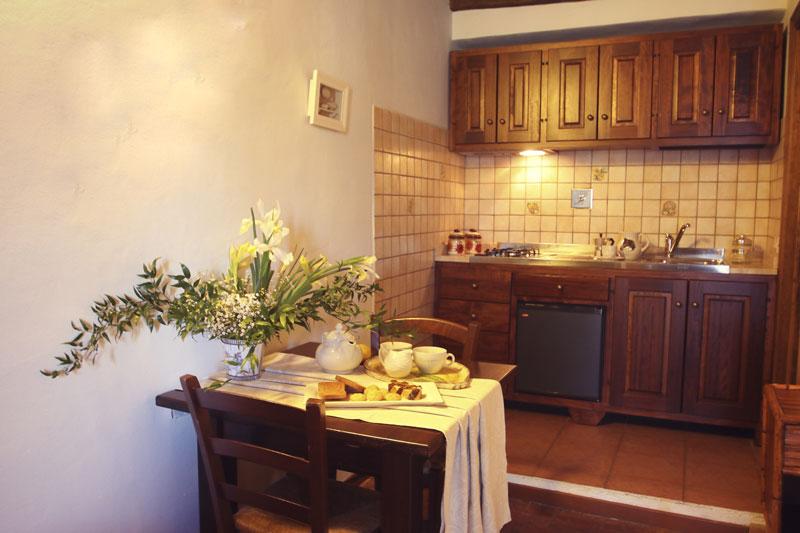 Cucina appartamento colazione