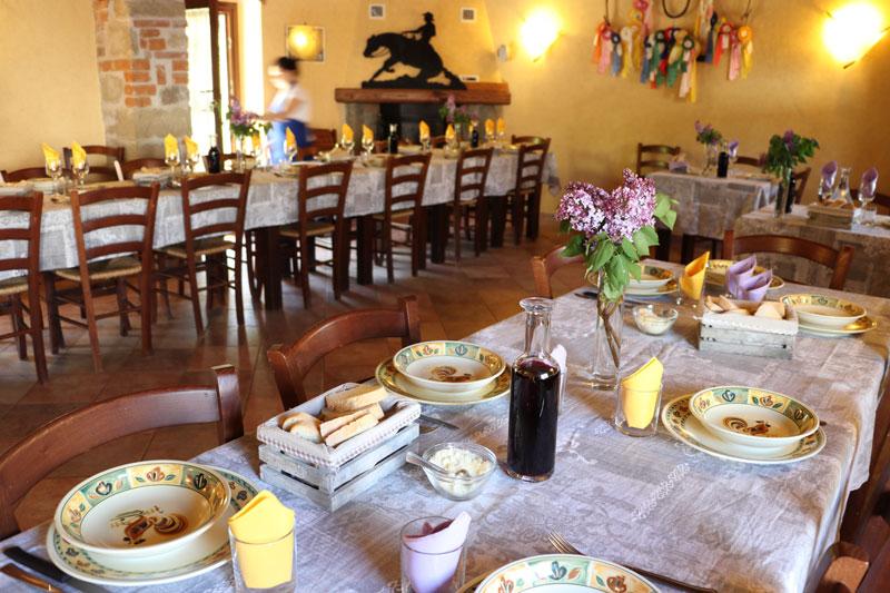 ristorante firenze agriturismo mugello sala