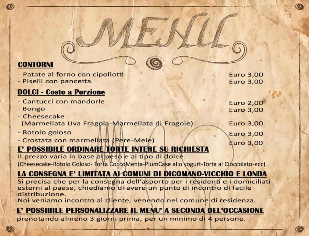 Offerte speciali ristorante