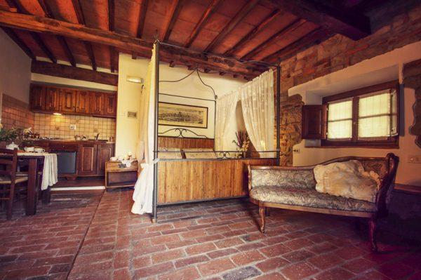 Agriturismo Toscana camera letto