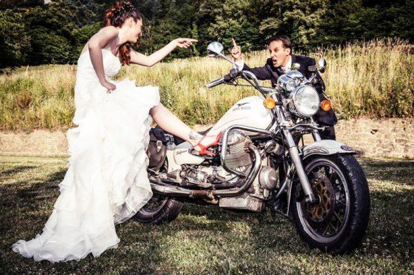 location matrimoni firenze moto sposi