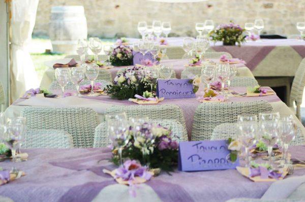 location matrimoni allestimenti tavoli
