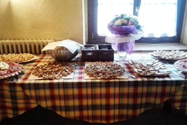 sala ricevimenti agriturismo toscano buffet