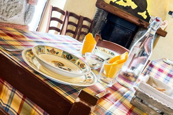 ristorante firenze agriturismo mugello tavolo