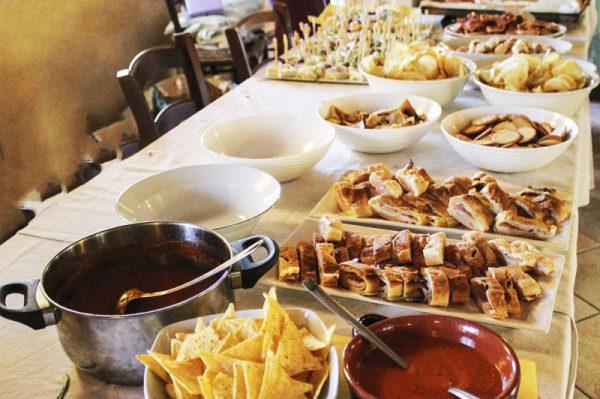 sala ricevimenti agriturismo firenze buffet
